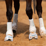 Iconoclast Equine Bell Boots are available in Ontario Canada. They are designed to go hand in hand with any horse support boot. They feature a stabilizing bar to ensure secure fit and great protection for your horse.