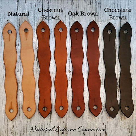 Slobber Strap leathers are used to improve communication between horse and rider. The design and weight distributes rein pressure evenly through the bit allowing the horse to sense slight changes in pressure through the mecate rein.