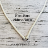 Horse Neck Ropes / Cordeo without Tassels