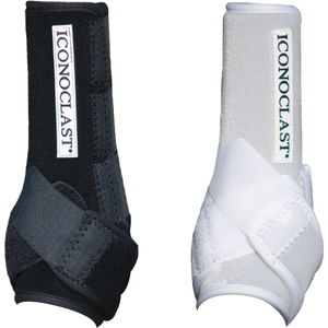 Iconoclast Equine Orthopedic Support Boots will help your horse feel more confident with each step he takes, in and out of the arena.
