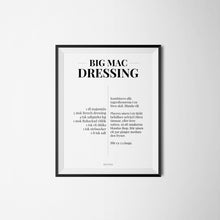 Big Mac dressing