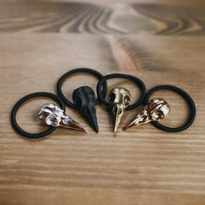 Norse Raven Hair Band (Set of 4)