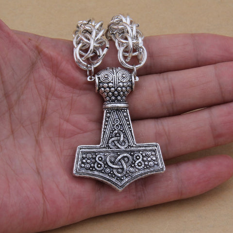 Image of Öland Thor's Hammer Necklace