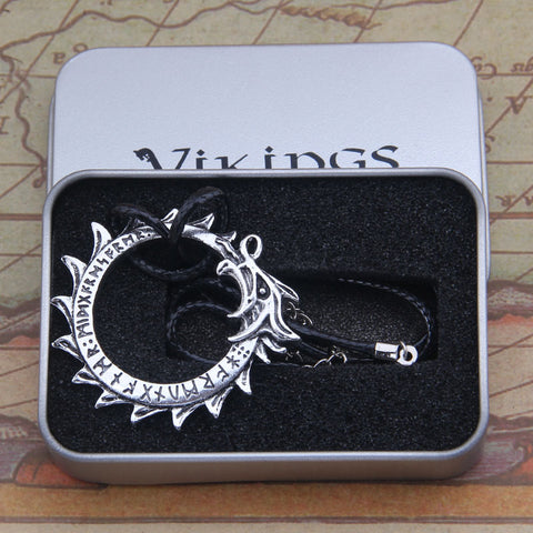 Image of Jormungand Ouroboros World Serpent Necklace