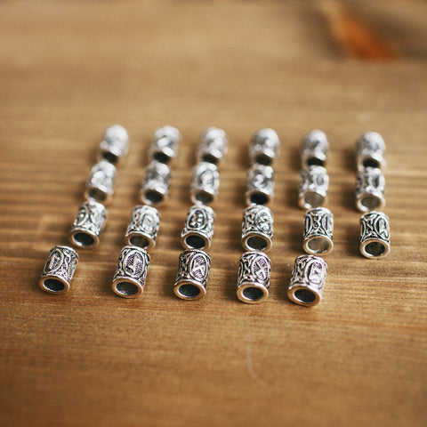 Image of 24 Rune Bead Set