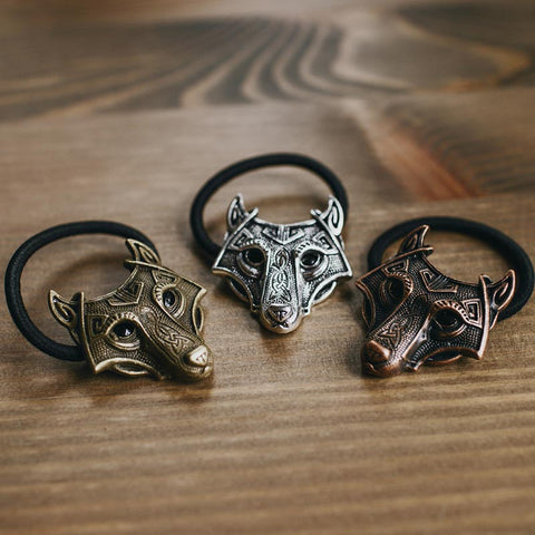 Norse Wolf Hair Band (Set of 3)