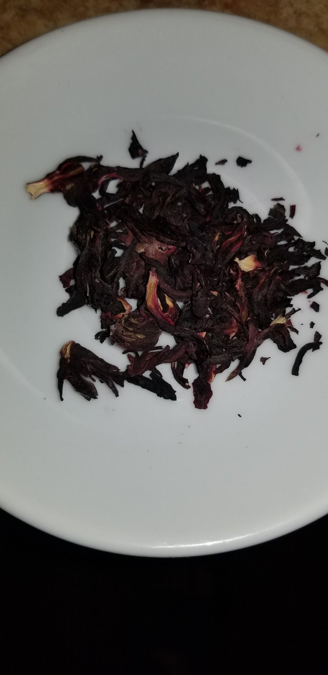 Hibiscus Leaves and Flowers Dried