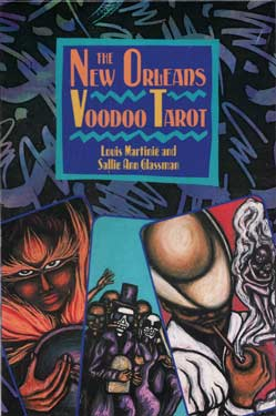 New Orleans Voodoo tarot deck and book by Martinie & Glassman