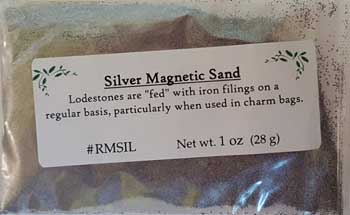 Silver Magnetic Sand