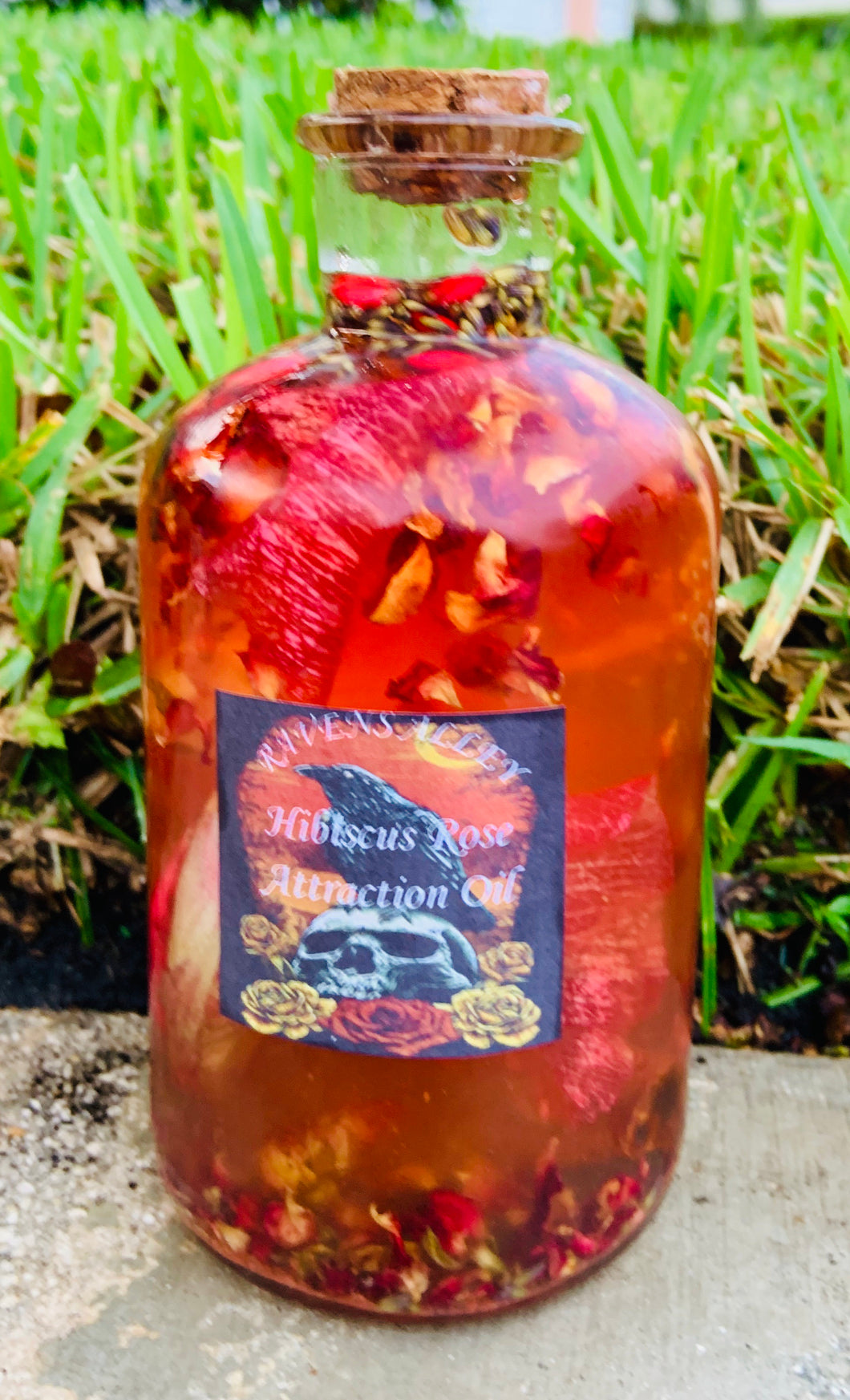 Hibiscus Rose Attraction Oil. Available in ½ Oz.  or 1 Oz.