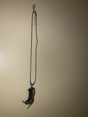 Alligator Foot Necklace