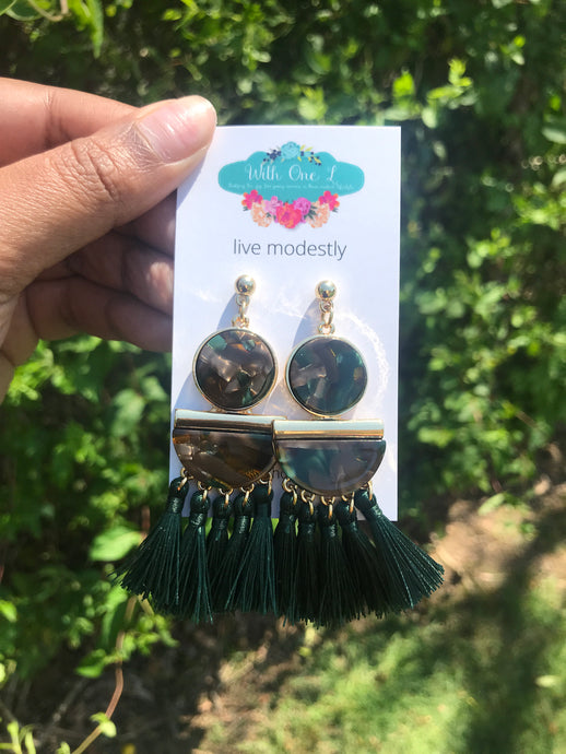 Green Pasture Earrings