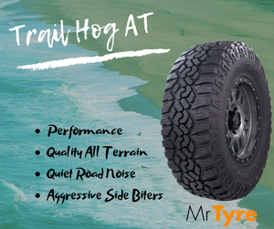 What is one of the more Aggressive All Terrain Tyres Available