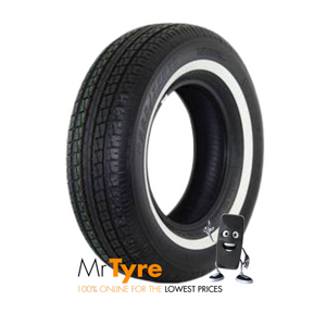 225/75R15 KENDA 110S KR33A WSW (Whitewall)