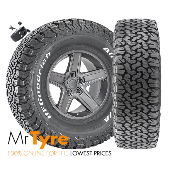 Mr Tyre Online BFG K02 255/70R16, 2557016 BF Goodrich, Afterpay Tyres, Zippay Online Tyres Brisbane Tyres, Gold Coast Online Tyres