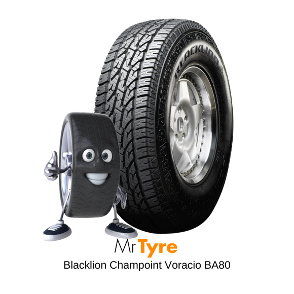BLACKLION 265/65R17 Voracio AT BA80 120/117R - ALL TERRAIN