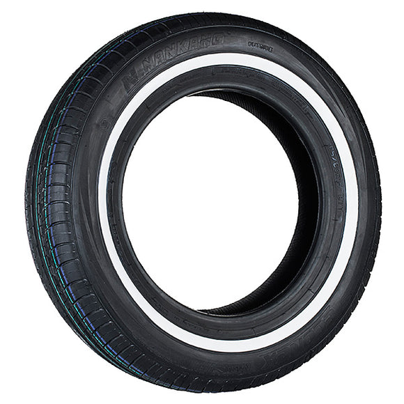 165/80R15 87T TL NANKANG CX-668 WSW (Whitewall)