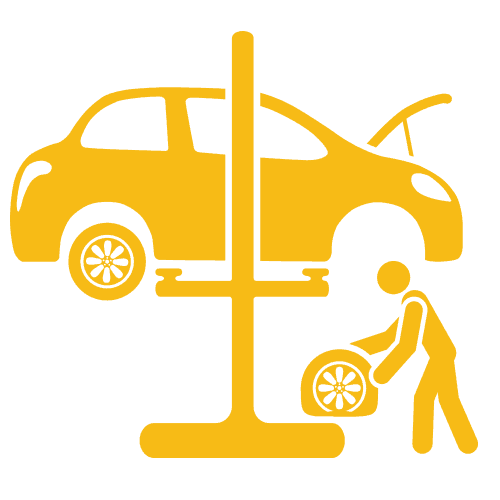 In-Store Tyre Fitting Car/4x4 Only - Gold Coast - Brisbane  (PER TYRE)