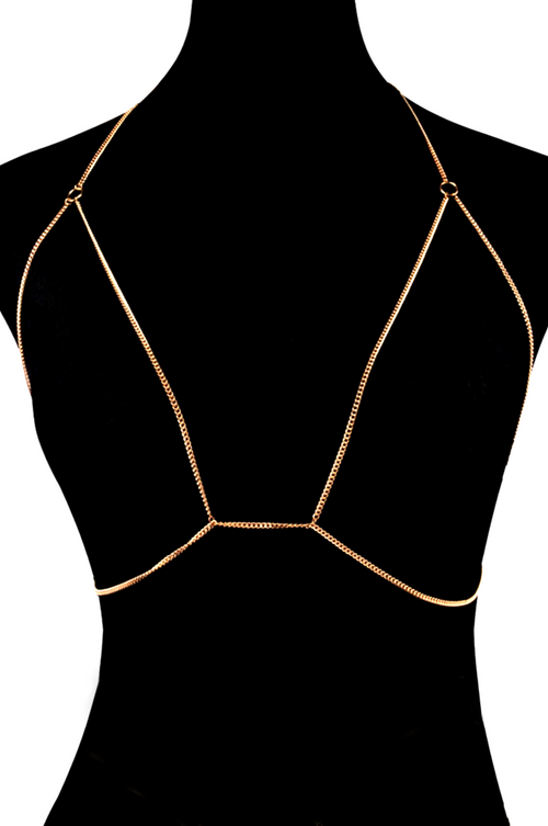 WARDROBE ESSENTIAL CHAIN BRALETTE
