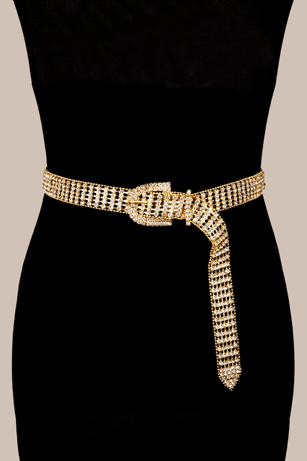 THE TINI GALA BELT - GOLD