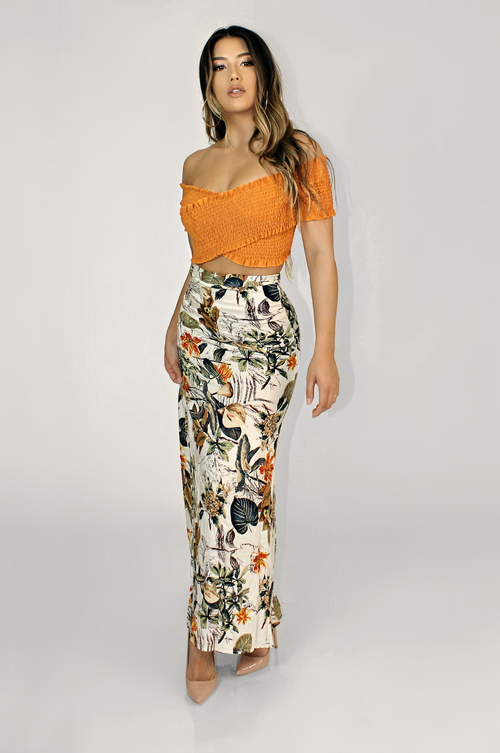 MOSCOW MULE MAXI SKIRT