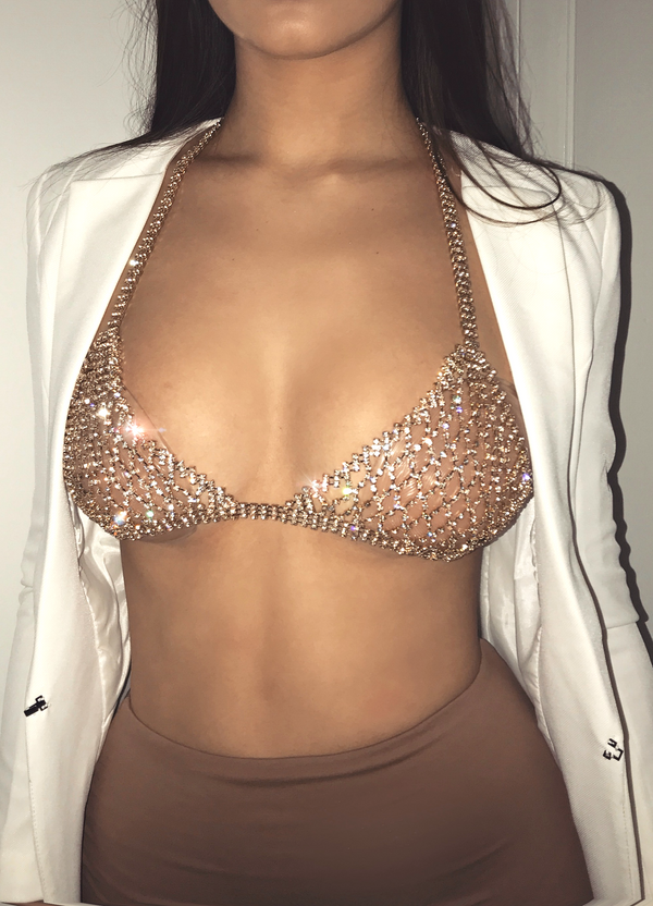 DIAMONDS ARE FOREVER BRALETTE