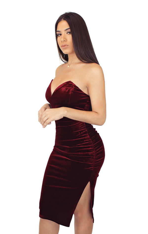 VELVET DREAM DRESS