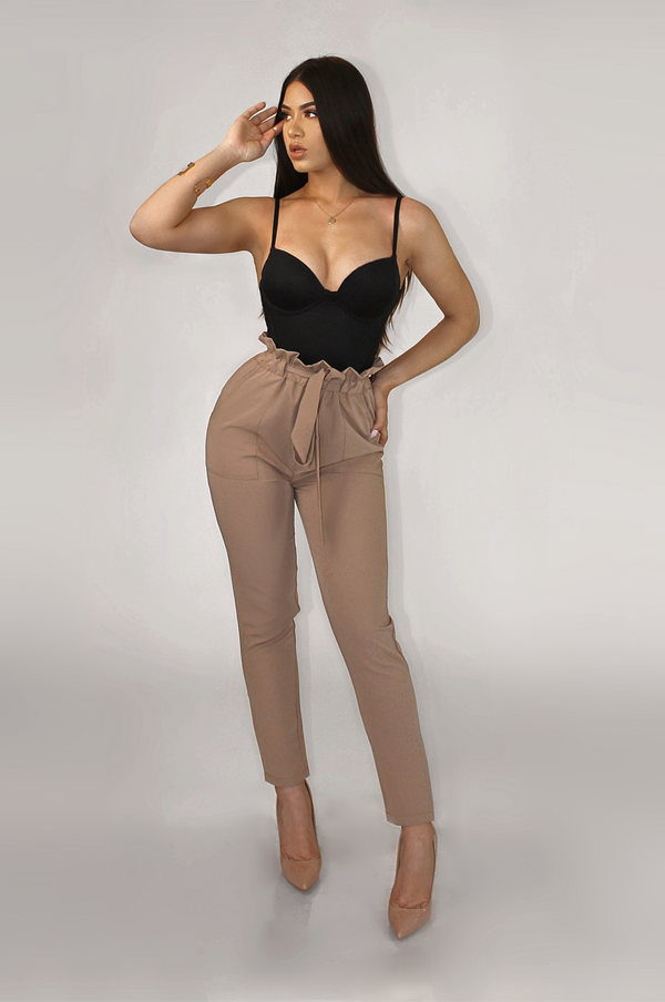TAN FORMATION TROUSER PANTS
