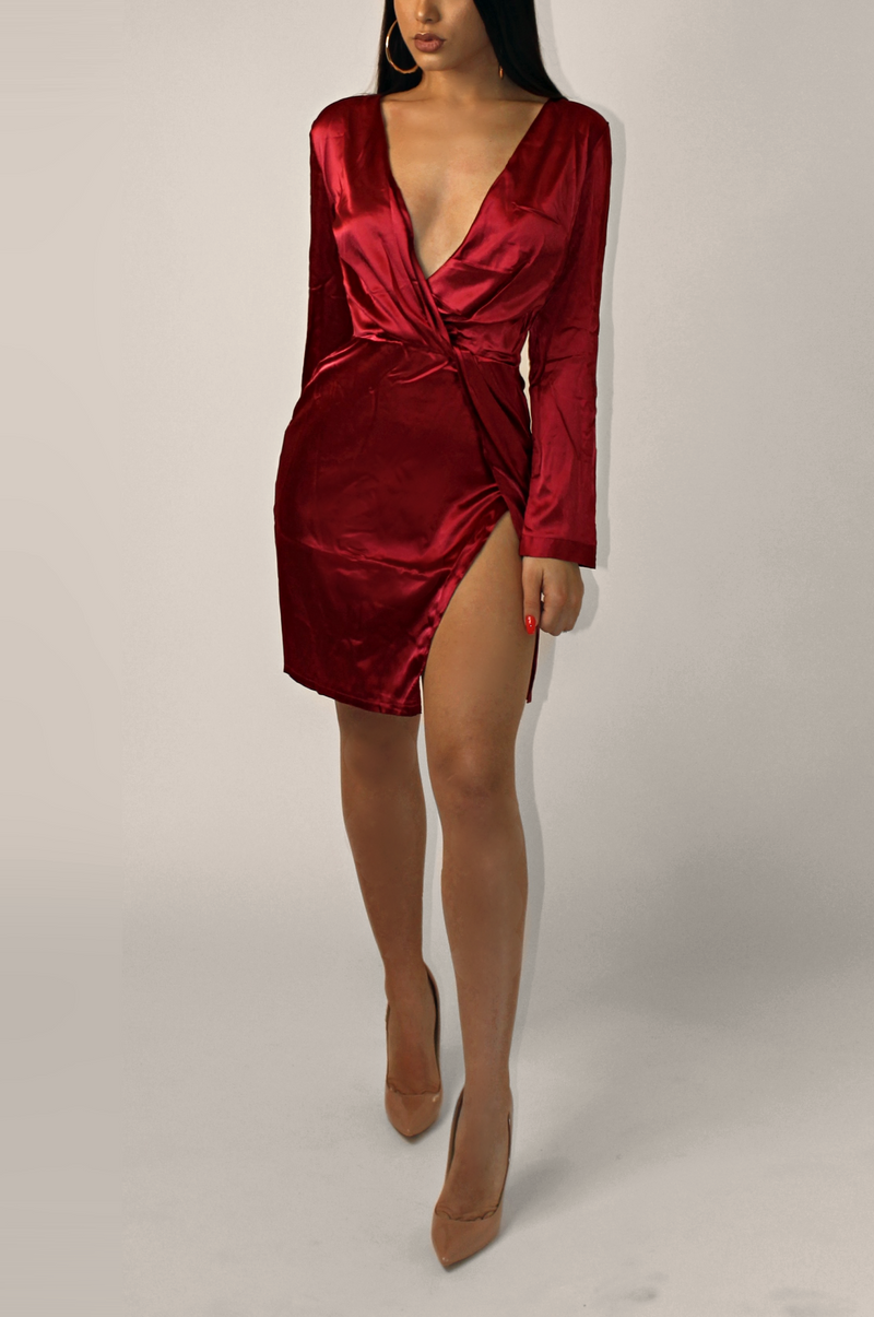 MARRIOTT LUXE DRESS ` RED