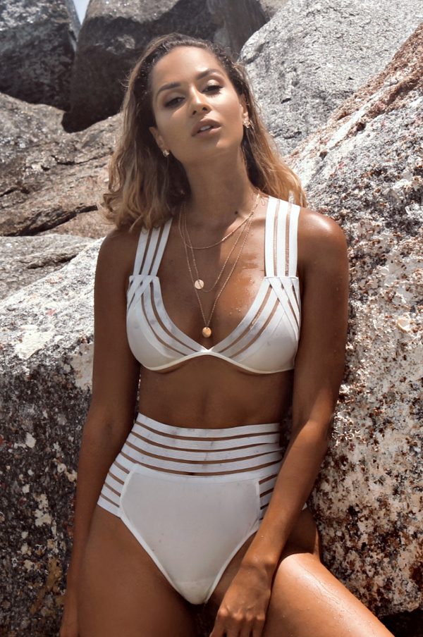 SAINT KITTS LINED TWO PIECE SWIM