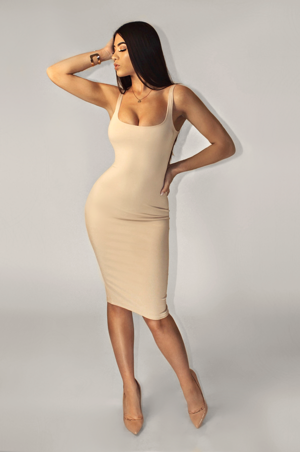 NUDE LUX BASICS TANK DRESS