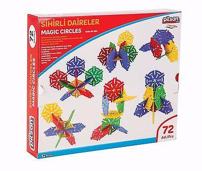 magic circles 72 pcs