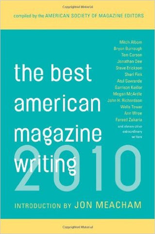 Best American Magazine Writing, the (2010)