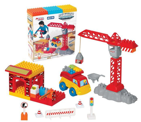 building blocks 43 pcs