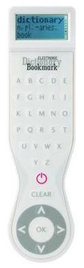 Electronic Dictionary Bookmark - (USA) White