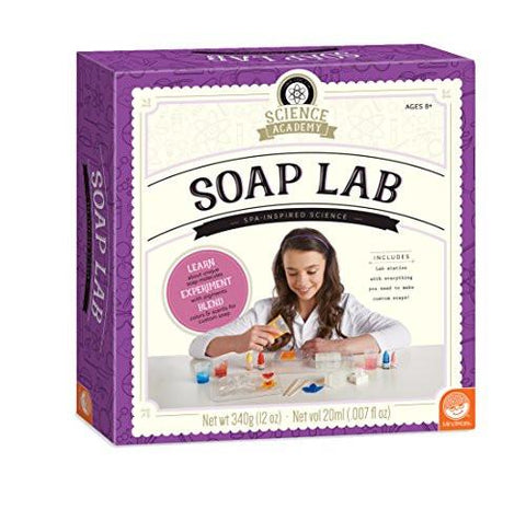 Science Academy: Soap Lab: Activities