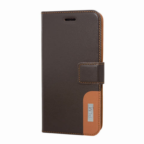 PLM Wallet Case Iphone 6 D.Brown