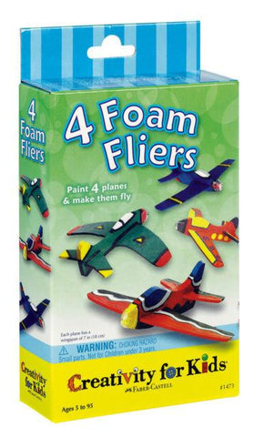 Four Foam Fliers