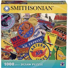 Smithsonian Take Flight History of Flight Collection 1000 Piece Jigsaw Puzzle