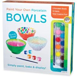 Paint Your Own Porcelain: Bowls: Creative Activities