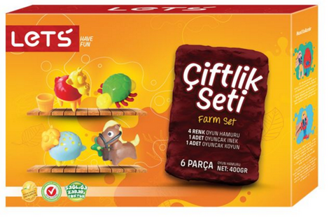 Lets Farm Set 6 pcs