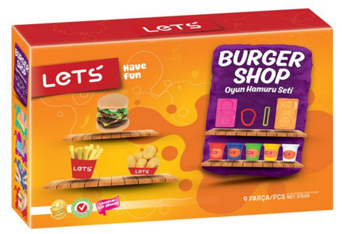Lets Hamburger Set 8 pcs