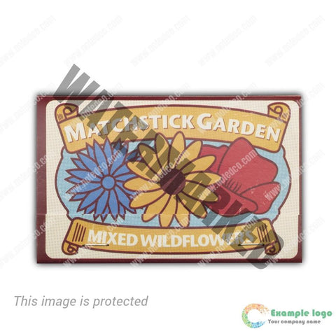 Matchstick Garden - Mixed Wild Flowers 48 Units in POP Display
