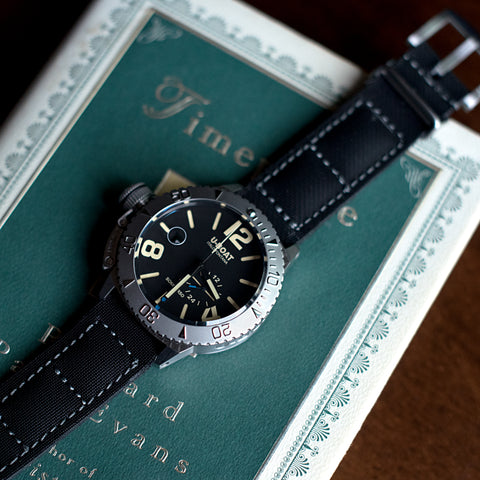 Black U-Boat Classico 46 BK 9007 Sommerso Dial Watch
