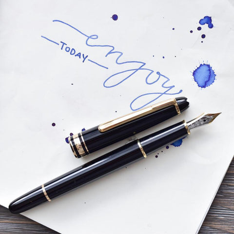 Montblanc Meisterstück 144 Black Fountain Pen