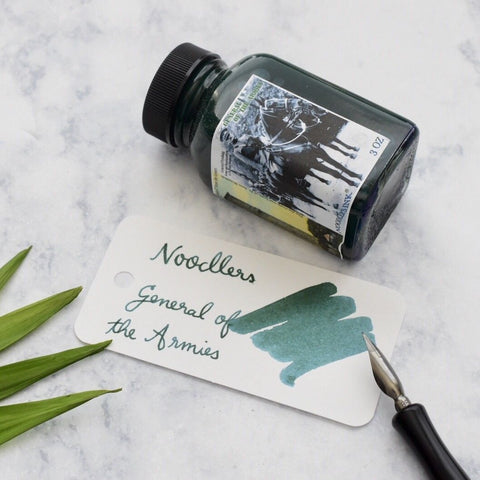 Noodlers General of the Armies Green 3oz Ink Bottle