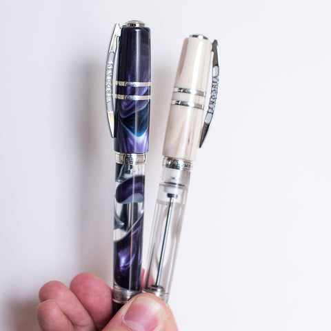 Visconti Homo Sapiens Midnight and Pearl