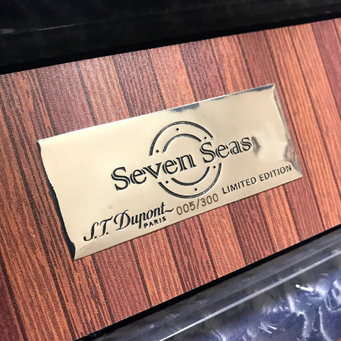 S. T. Dupont Seven Seas Limited Edition Seal #5 out of 300