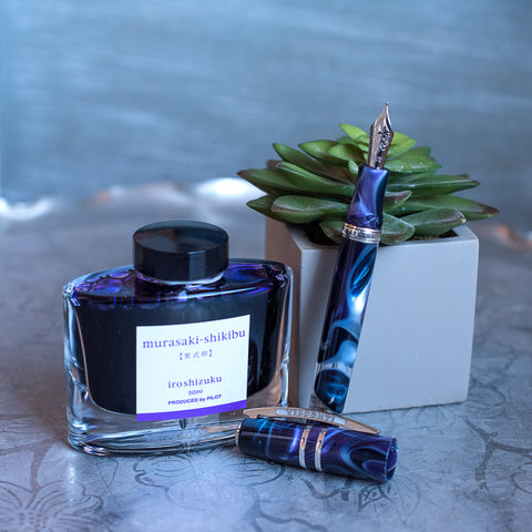 Visconti Homo Sapiens Midnight in Florence - Murasaki-Shikibu Ink