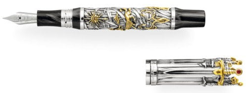 Montegrappa – Game of Thrones Sterling Silver The Iron Throne Fountain Pen